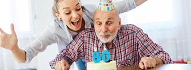 Prezenty na 80 urodziny