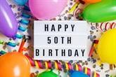 Życzenia na 50 urodziny