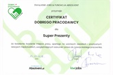 Certyfikat Dobrego Pracodawcy