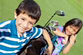 Golfowe urodziny idealne dla dziecka/ Magazyn golfowy