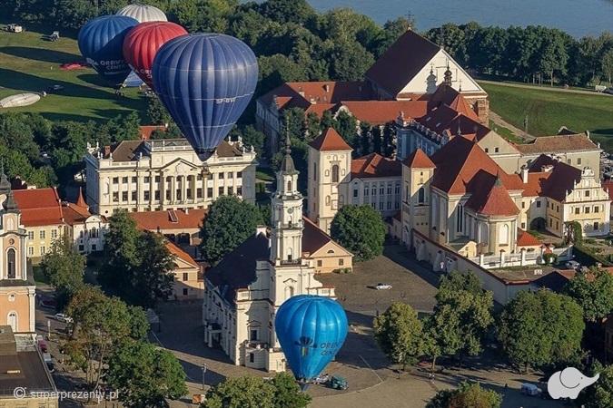 Lot balonem na wyłączność w Krakowie
