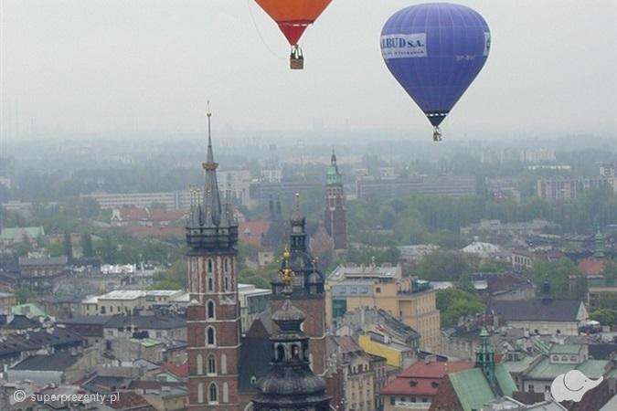 Standardowy lot balonem w Krakowie