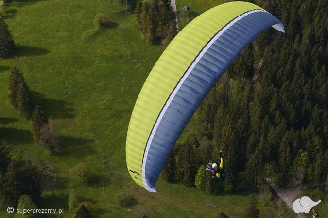 Lot paralotnią z elementami akrobacji | Tatry