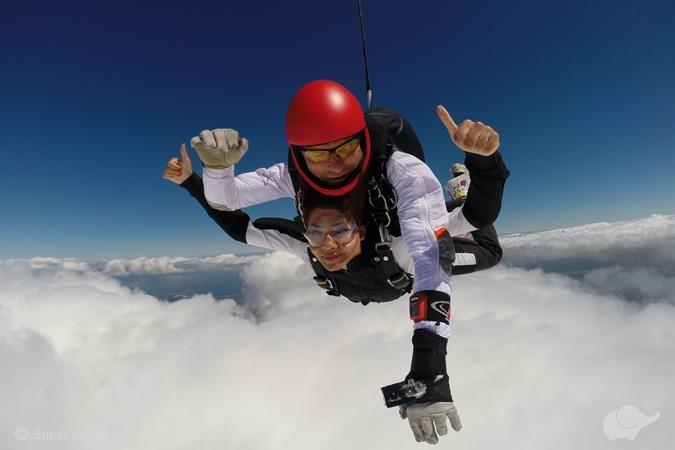 Skok ze spadochronem | Pruszcz Gdański