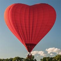 Zaręczyny w balonie w Krakowie