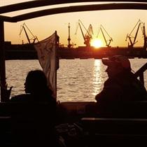 Wieczorny rejs z zachodem słońca w Gdańsku