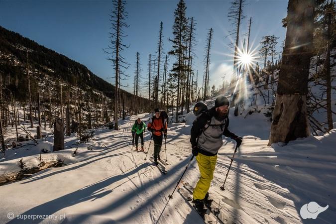 Wycieczka i szkolenie skiturowe dla początkujących w Zakopanem