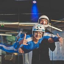 Lot w tunelu aerodynamicznym dla Dwojga   Leszno