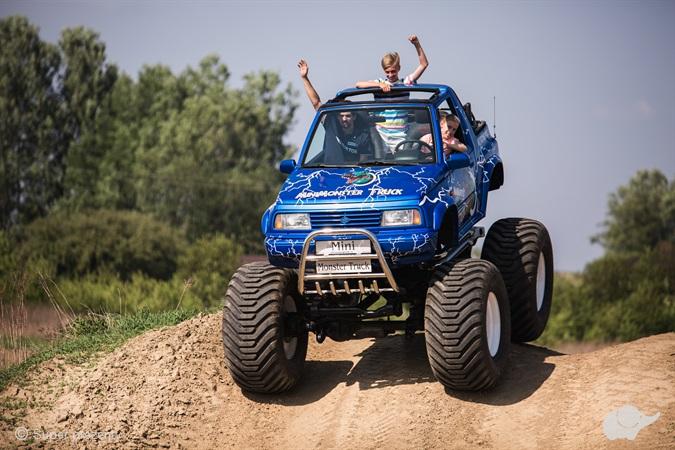 Jazda Mini Monster Truck dla dzieci