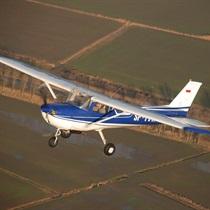 Lot widokowy samolotem nad Sopotem