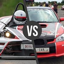 KTM X- Bow vs Subaru Impreza WRX   Tor Poznań, Tor Śląsk