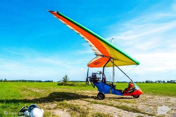 Lot motolotnią dla dwojga