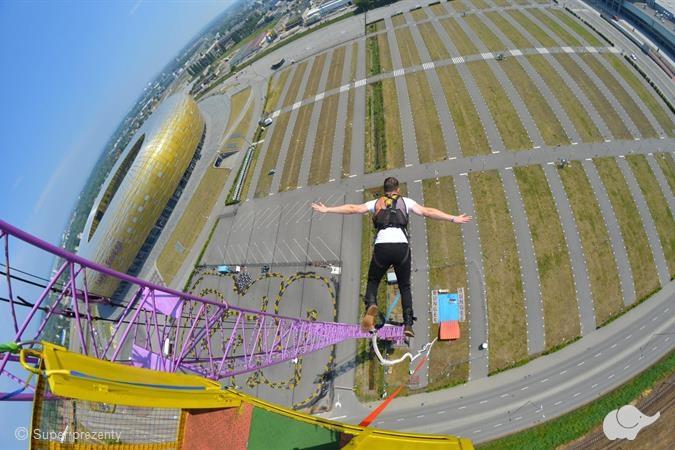 skok na bungee w trójmieście